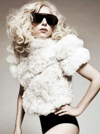 Lace Front Curly Good Lady Gaga Wigs