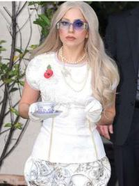 Lace Front Wavy Great Lady Gaga Wigs