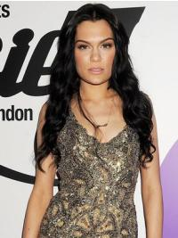 Hairstyles Black Wavy Long Jessie J Wigs