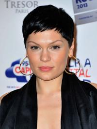 Cheapest Black Straight Cropped Jessie J Wigs