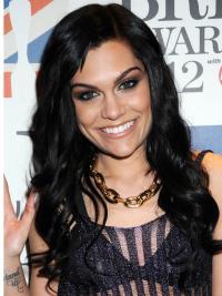 Lace Front Black Wavy Flexibility Jessie J Wigs