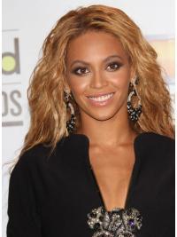 Gentle Brown Wavy Long Beyonce Wigs