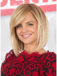 Lace Front Blonde Straight Easeful Mena Suvari Wigs