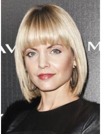 Lace Front Blonde Straight Cosy Mena Suvari Wigs