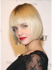 Braw Blonde Straight Chin Length Mena Suvari Wigs