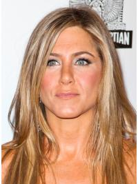 Lace Front Blonde Straight Flexibility Jennifer Aniston Wigs