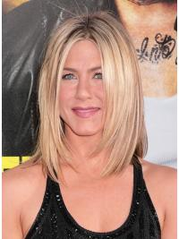 Lace Front Blonde Straight Exquisite Jennifer Aniston Wigs