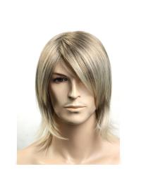 11 Inch Amazing Medium Men Wigs