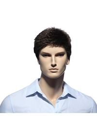 11 Inch Comfortable Short Men Wigs