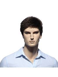 11 Inch Comfortable Short Men Wigs