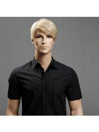 Blonde 11 Inch Short Men Wigs