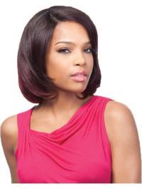 Sleek Auburn Straight Chin Length U Part Wigs