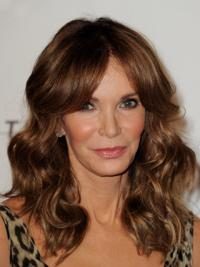 Soft Curvaceous Long Layered Wavy Lace Front Human Hair Wig