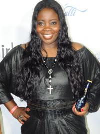 Kim Kimble 24 Inch Black Human Wigs