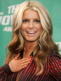 Retro long layered wavy lace front human hair wig about 18 inches