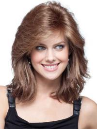 Lace Front Auburn Wavy Amazing Remy Human Lace Wigs