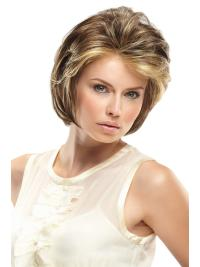Lace Front Blonde Wavy Cheap Glueless Lace Wigs