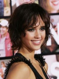 Lace Front Brown Wavy Tempting Jessica Alba Wigs