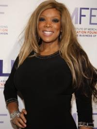 Long Straight Wendy Williams Celebrity Wigs