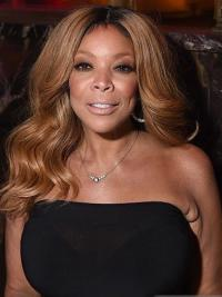 "Wendy Williams 18"" Wavy Long Remy Human Hair"