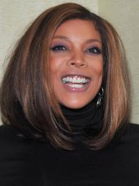 """Wendy Williams 16"""" Straight Shoulder Length Remy Human Hair"""