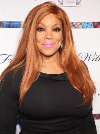"""Wendy Williams 20"""" Straight Long Remy Human Hair"""