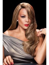 24 Inch Remy Lace Front Wendy Williams Wavy Wigs