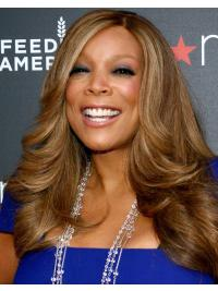 Long Wavy Wendy Williams Wigs African American Remy Hair
