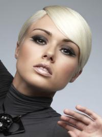 Young Fashion Elegant Short With Bangs Women Wigs