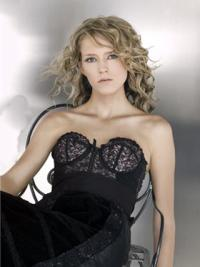 Young Fashion Wonderful Grey Curly Long Style Lace Front Wigs